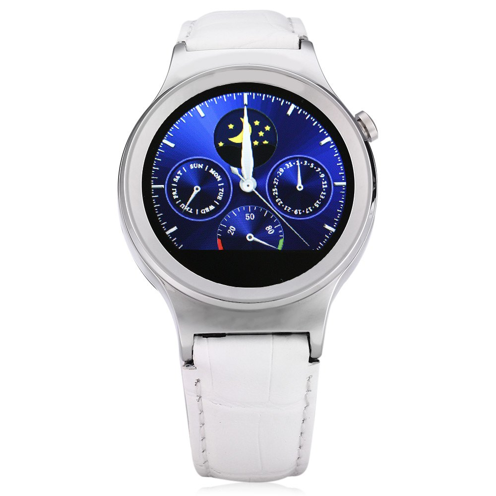 Round Bluetooth Heart Rate Monitor Smartwatch with Dial Call Pedometer Sleep Monitor waterproof Smart watch for ISO Android S3