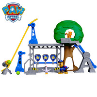 PAW PATROL Crane Sling Shooting Rescue Training Center Simulated Scene Model Toy Set For Children Kids Boys Gilrs