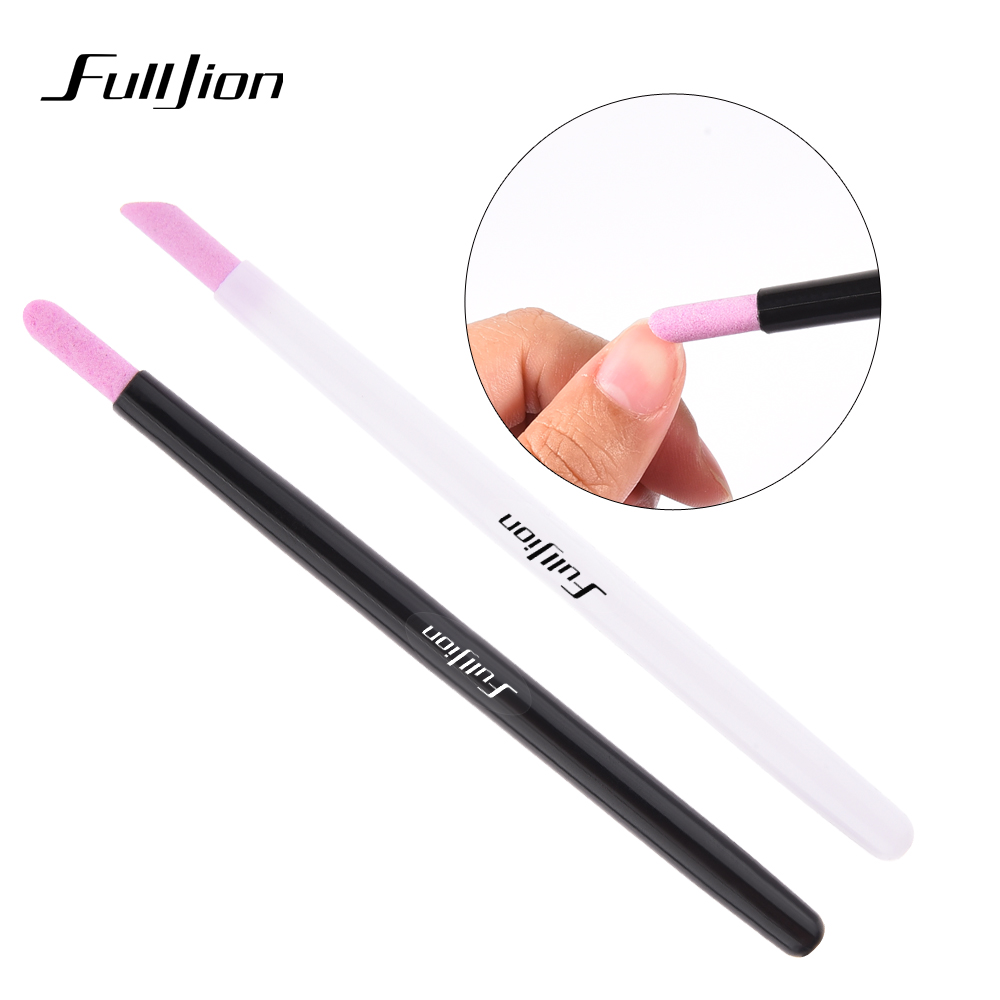 Professional Stone Nail File Sanding Cuticle Remover Trimmer Buffer ...