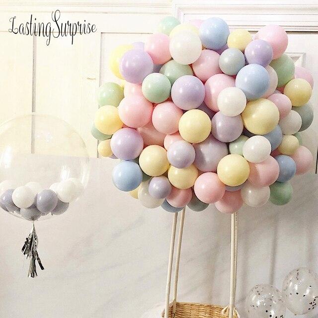 1pc Balloons Birthday Party Decorations 18 Macarons Candy Color Balloon Balloons Princess Balon Anniversaire Decoration Ballons
