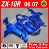 Hot Sale Fairings For Kawasaki ZX10R 06 07 New Light Blue Bodywork 2006 2007 ZX 10R