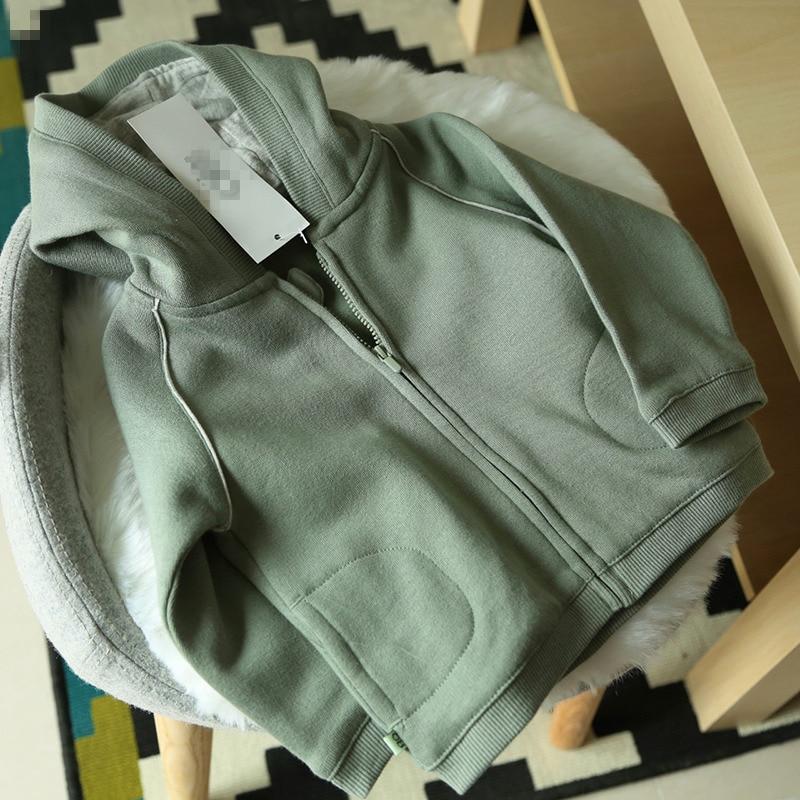 New Arrived Fashion Baby Hoodies Zipper Coat