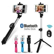 Portable Tripod For Phone 3 In 1 Wireless Bluetooth Selfie Stick Remote