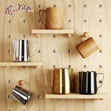300/600/900ml Stainless Steel Frothing Pitcher Pull Flower Cup Espresso Cappuccino Art Pitcher Jug Milk Frother Mug Coffee Tools