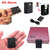 N9 Original Wireless SIM GSM Monitor Personal Mini Car Tracker GSM Alarm Free Shipping