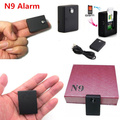 2016 New N9 Wireless SPY SIM GSM Voice Pick-Up Burglar Alarm Monitor Device Mini USB Real Time Listening Device
