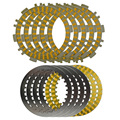 A set Motorcycle Engine Parts Clutch Friction Plates & Steel Plates Kit For YAMAHA T-MAX500 TMAX500 T-MAX / TMAX 500