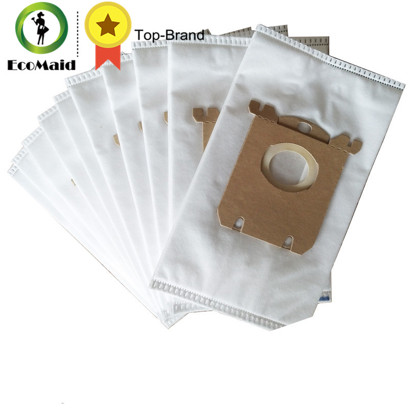 super quality brown color 10 pieces a lot Vacuum Cleaner Bags Dust Bag fit for Electrolux