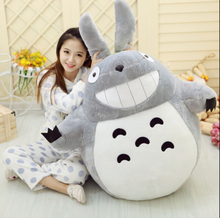 1pcs 60cm Stuffed Animal Totoro Cartoon Movies Plush Toys Baby Toy High Quality Dolls Girl's Gift Free Shipping