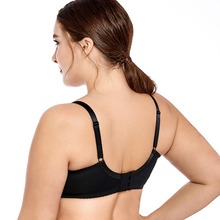 Plus Size Women's Unlined bra  No Padding Sheer Lace Full Cup