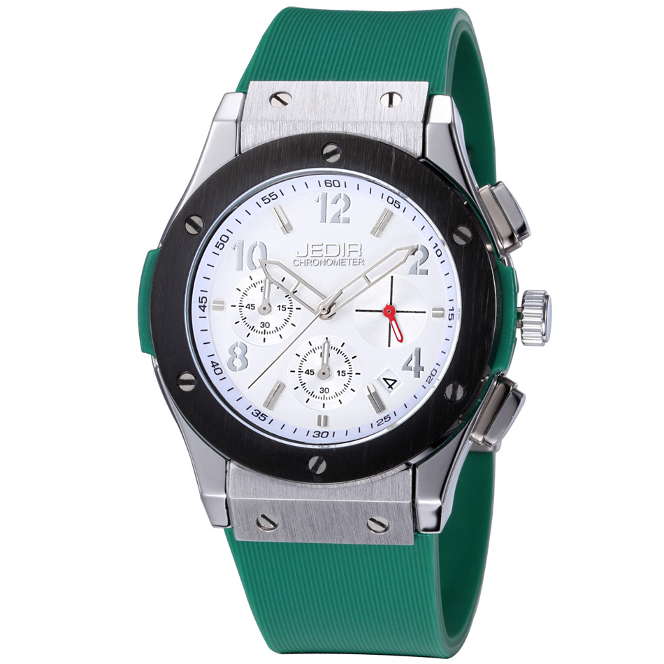 Image 5 - Mens Watches Top Luxury Brand Men Silicone Hublo Sports Watches Men's Clock Waterproof Military Wrist Watch Relogio Masculino-in Quartz Watches from Watches