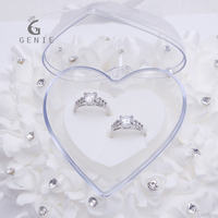 Genie High Quality Ring Pillow Wedding Favors Heart Shaped Gifts Ring Box Ring Pillow European Style