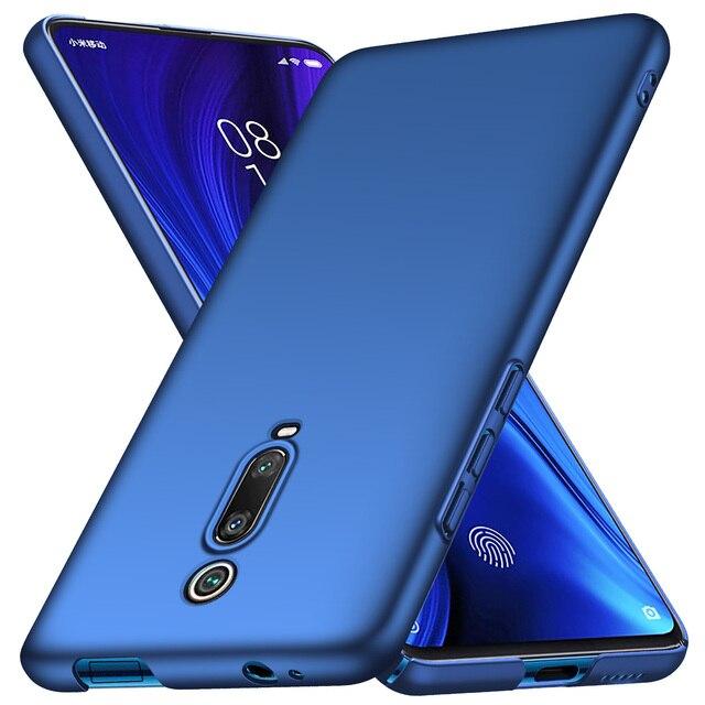 Pour xiaomi mi 9 T Pro étui de luxe de haute qualité PC dur mince mat étui de protection arrière pour xiaomi mi 9 t mi 9 t coque de téléphone