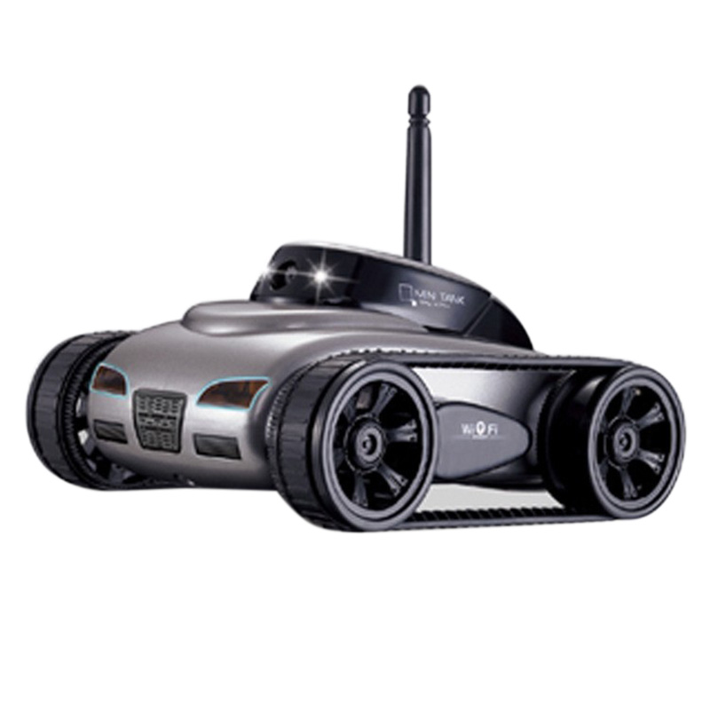 HappyCow 777-270 Remote Control Toy Mini WiFi RC Car with Camera Support IOS phone Android Real-time Transmission RC Tank FSWB стоимость