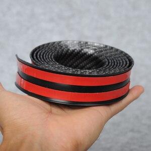 Image 3 - Adesivos de carro 5d fibra carbono borracha estilo protetor peitoril da porta bens para kia toyota mazda bmw audi ford hyundai etc acessórios
