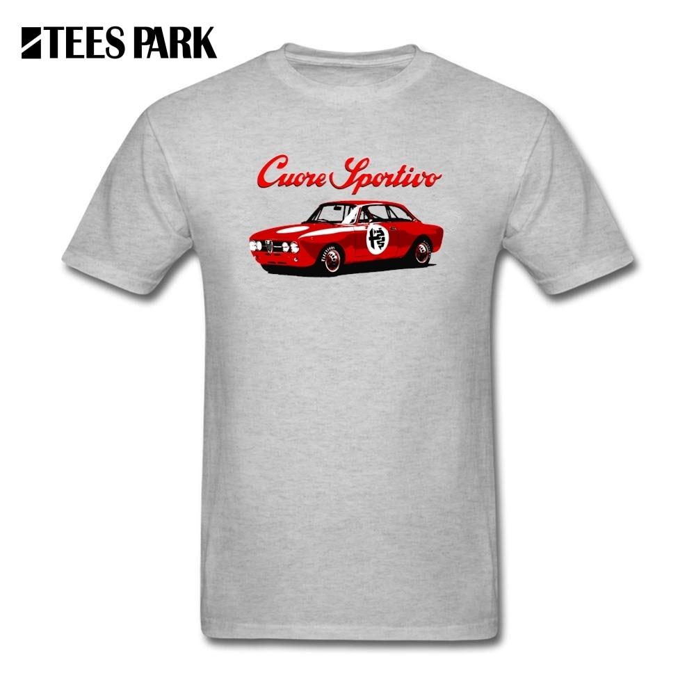 Gt86 design t shirts men s t shirt - Special Printed T Shirt For Men Alfa Romeo Gta Car Male Round Neck Short Sleeve T Shirts Male Teenage Tee Shirt Design Tops
