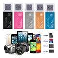 5 Цветов 4 в одном читателе карточки USB 2.0 Быстро скорость кард-ридер для SD/SDHC, MMC/RS MMC, TF/MicroSD, MS/MS PRO/DUO M2 MS Падение доставка