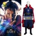 COS Movie Doctor Strange Dr Strange Steve Cosplay Costume Superhero Halloween Coat Full Set for Men and Women halloween apparel
