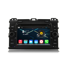 Octa Core 1024*600 Android 6.0 Car DVD GPS Navigation Multimedia Player Car Stereo for Toyota Prado Cruiser 120 2003-2009 Radio