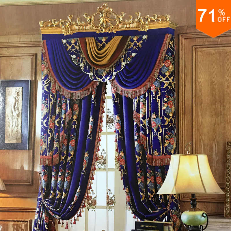 Best The Most Luxury Curtain Decoration Customize Curtain Top Design Elegant Designer Design Decoration Curtains Customize Curtains Aliexpress