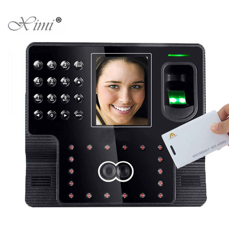 ZK iface102 Face+Fingerprint+125KHZ RFID Card Time Attendance System Employee Attendance Biometric Time Recorder Time Clock