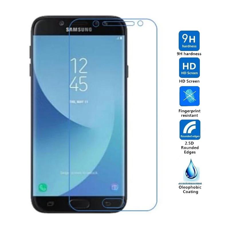 yf Mobile Screen Protective Film 25 PCS 9H 5D Full Glue Full Screen Tempered Glass Film for Galaxy J2 Pro 2018
