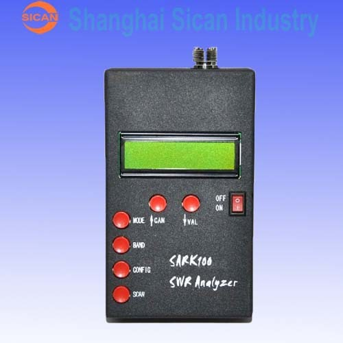 New ANT SWR Antenna Analyzer Meter For SARK100 Ham Radio Hobbists