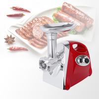 1200w Colorful Home Electric Meat Grinder Sausage Stuffer Mincer Heavy Duty Household Mincer