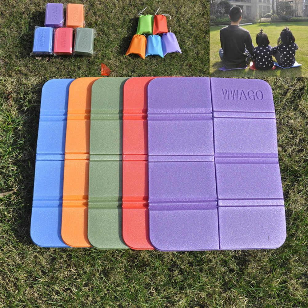 XPE Folding Tahan Air Camping MAT Ringan Hiking Kursi Piknik Foam Portable Bantal Outdoor Pad Kursi 2