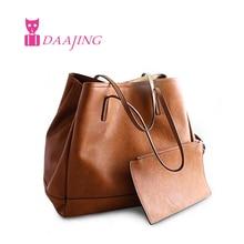 European 2016 ZA Bag Leather Women Fashion Handbag Large Tote Vintage Women Shopping Shoulder Bags Casual bolsas femininas