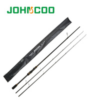 JOHNCOO 2.1m/2.4m New Casting Rod Carbon Rod ML/M 2Tips 5 28g Spinning Rod Casting Version Light Jigging Rod 2Sections