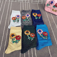 2017 Knee Socks A Limited Edition Of High-end Runway Looks Manual Nail Bead Onion Hosiery For Pearl Heaps Of Individual Vogue
