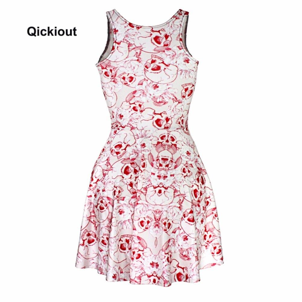 Модное сексуальное платье с розовым черепом, популярное женское платье с цифровым принтом, розовые платья с черепом, без рукавов, популярное пляжное платье, Прямая поставка