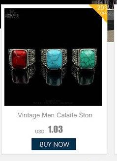 Модные ювелирные изделия Винтажное кольцо из тибетского сплава