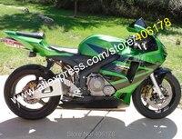 Hot Sales,For Honda CBR600RR F5 05 06 CBR 600RR 2005 2006 600R Green Black bodywork Motorcycle Fairing Kit (Injection molding)