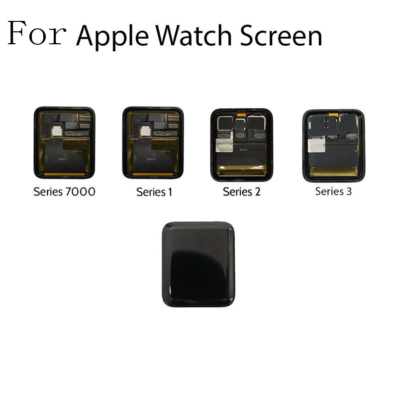 For Apple Watch Series 1/2/3/4 Replacement Digitizer LCD Screen Display Touch Screen S1 S2 S3 38mm 42mm