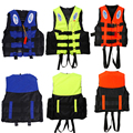 Water Sports Outdoor Polyester Adult Life Jacket Universal Swimming Boating Ski Vest Survival Suit With Whistle