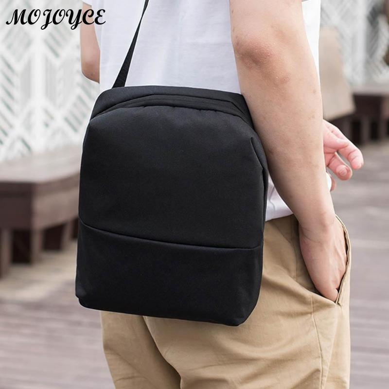 New Men's Crossbody 2018 Fashion Shoulder Bags High Quality Nylon Waterproof Casual Messenger Businessmen Bag Casual Briefcase 3