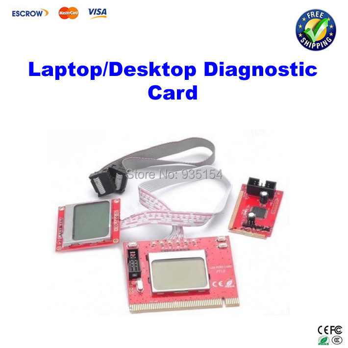 PTI8 Motherboard Diagnostic card Analyzer Debug Card with LCD display for Laptop & Desktop lcd 32e9bd motherboard 40 00ms68 mae2xg with 320ap09 screen