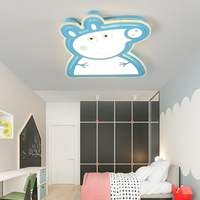 Modern Kids Room LED Ceiling Lights AC85 260V Peppa Pig Lampara De Techo Children Bedroom Decor
