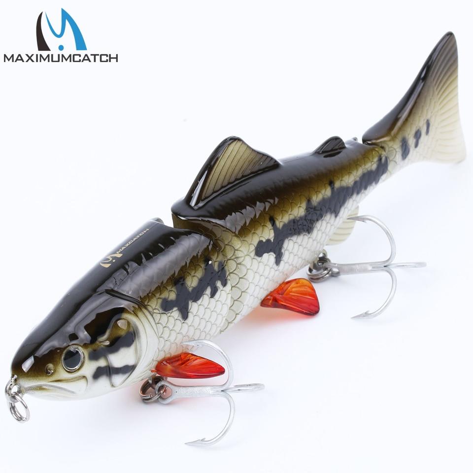 Maximumcatch Bait Hard 1Pcs 3 Seksioni i Joshur Swimbait Lures - Peshkimi - Foto 4