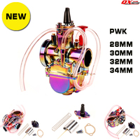 PWK Carburetor Motorcycle 4T Stroke Engine Parts Scooters Dirt Bike ATV 28 30 32 34mm with Power Jet Racing Moto