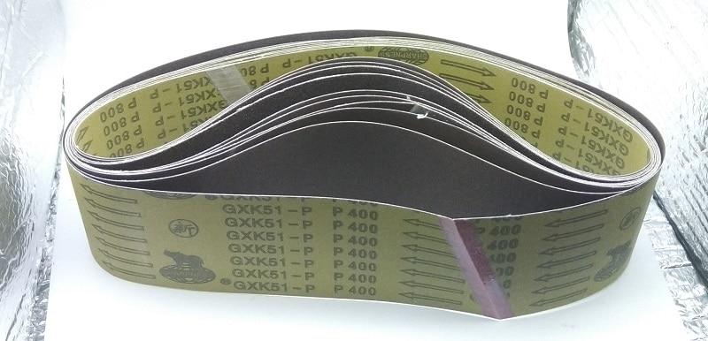 New 5pcs 915*100mm Abrasive Sanding Belt On Metal Belt Grinder For Belt Sander