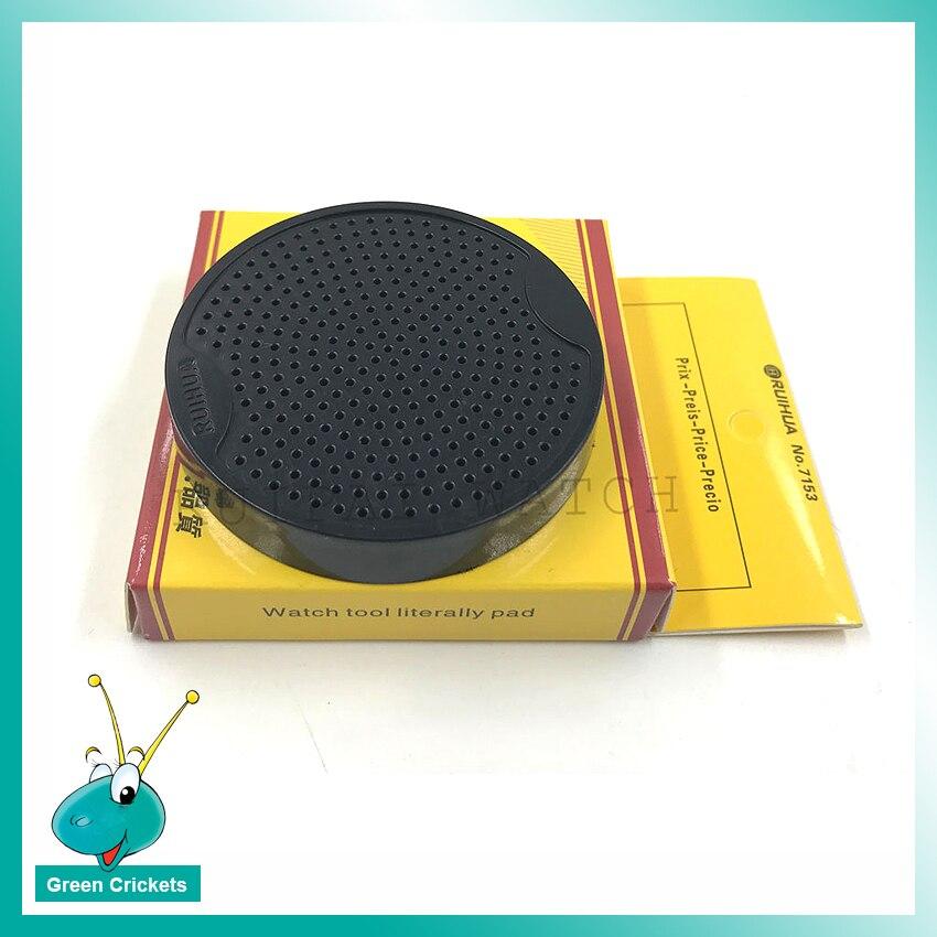 Ferramenta de Reparo Trabalho para Relojoeiros Relógio Dial Base Suporte Almofada No.7153