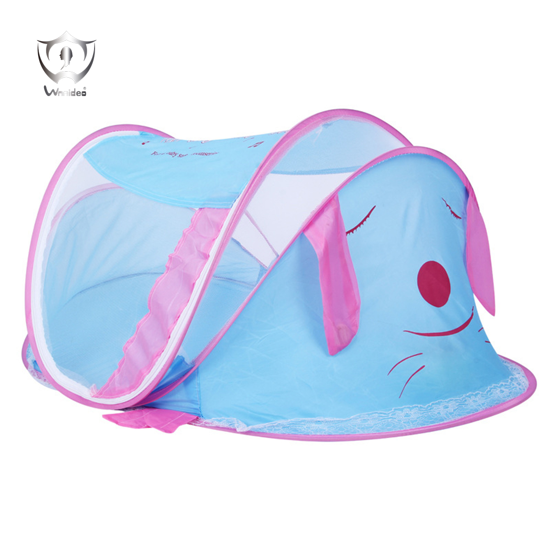 <font><b>Baby</b></font> Travel Bed Large <font><b>Baby</b></font> Camp Tent Travel Cribs Pop Up Folding Beach Tent Mosquito Net ZH9-01