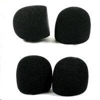 Microfone interno espuma para shure sm58 slx24 pgx24 pg58 beta58a mic capa profissional estúdio pára brisas esponja microfone boné|Acessórios de microfone| |  -