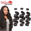 Uglam Hair Unprocessed  Brazilian Virgin Hair Body Wave 3 Bundles Brazilian Hair Weave Bundles 8-12 inch Ms Lula Hair