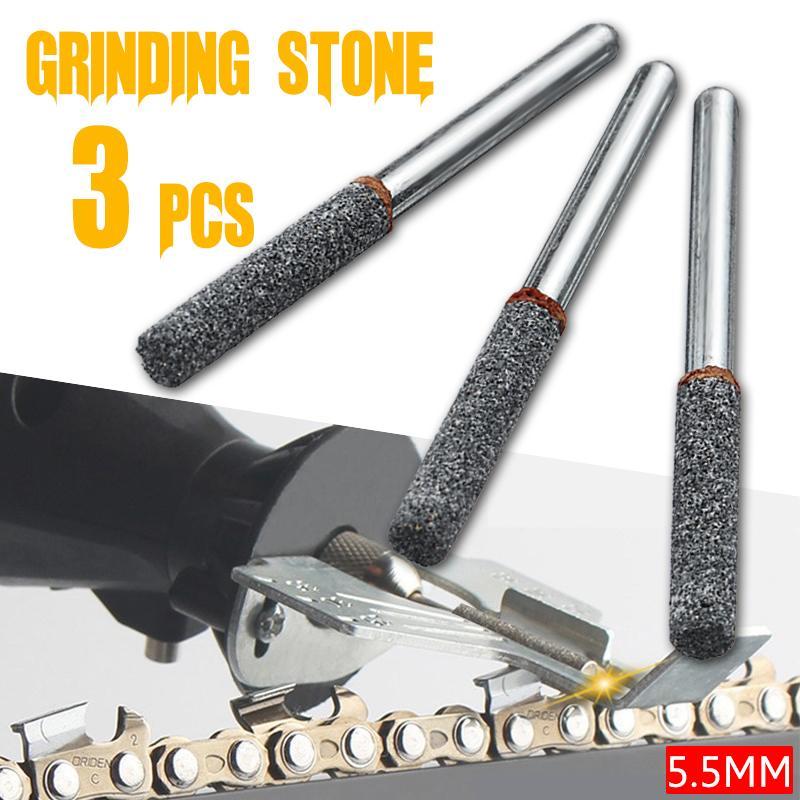 3Pcs/set  7/32 Inch Diamond Cutting Grinding Head Mounted Points Bit Shank Jade Stone Carving Polishing For Dremel Rotary Tool