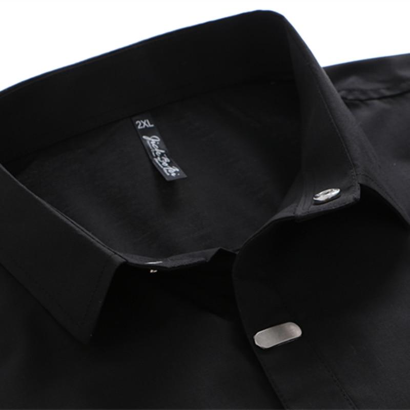 VISADA JAUNA Camisas para hombres 2018 Otoño Nueva llegada Estilo - Ropa de hombre - foto 4