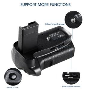 Image 4 - Multi Power Batterie Griff Für Canon 1100D 1200D 1300D EOS Rebel T3 T5 T6 EOS Kuss X50 DSLR Kamera + 2 stücke LP E10 + 2 stücke Objektiv Tuch